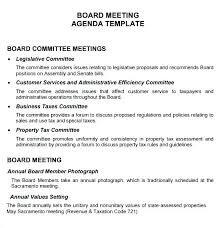 Ohs Meeting Agenda Template – Agoodmorning.co