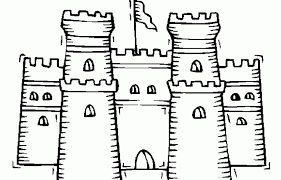 Easy disney castle drawing , transparent cartoon, free cliparts & silhouettes. Castle Coloring Pages 360coloringpages