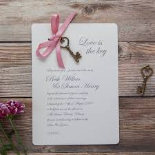 invitations diy wedding invites original love is the key invitation