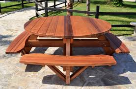 large wooden garden table with large round wooden garden table plus large outdoor wood table together with large wooden outdoor furniture as well as