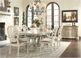 Antique White Dining Room Interesting Inspiration Design