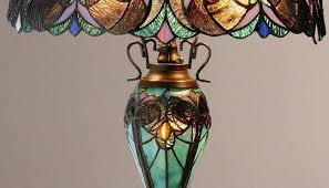 stained glass pool table lamp patterns best images on leaded garden