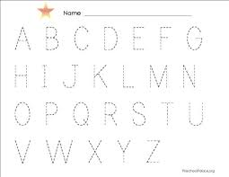 abc tracing sheet the best american essays of the century the best alphabet homework