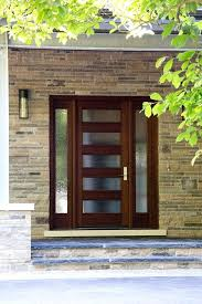 modern entry doors contemporary with front porch wood glass