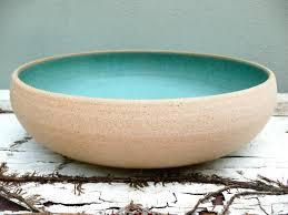 Large Decorative Ceramic Bowls Personalized Wedding Gift Wedding Bowl Large Pottery Bowl 2