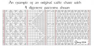 Technique Tuesday Charting Your Own Cable Designs By Hand
