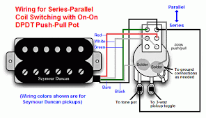 dvm s humbucker wiring mods page of  simple series parallel switch wiring configuration