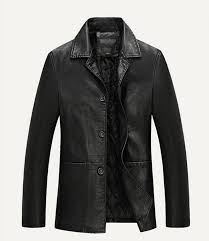 details about hot winter mens warm real leather jacket men thick jackets coat trench overcoat