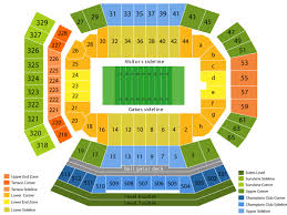 Phillips Center Gainesville Seating Chart Ben Hill Griffin Stadium Seating Chart And Tickets