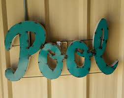 Swimming Pool Decor Signs Swimming Pool Signs Etsy 20