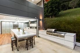 modern kitchen modern big kitchen design with marble flooring tile
