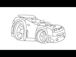 sport cars drawings. Perfect Drawings How To Draw A Sports Car  Easy Stepbystep Drawing Lessons For Kids  YouTube And Sport Cars Drawings D