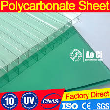 twin wall colored lexan hollow polycarbonate sheet for greenhouse