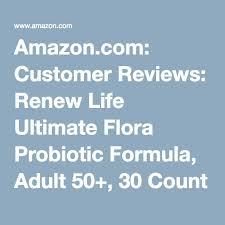 Amazon Com Customer Reviews Renew Life Ultimate Flora