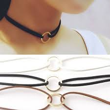 details about vintage chic choker suede leather necklace choker velvet belt for women l
