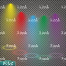 Bright special lighting Common Areas Special Light Effects Realistic Vector Bright Projectors For Scene Lighting Isolated On Plaid Backdrop Colorful Stage Lights Background Istock Special Light Effects Realistic Vector Bright Projectors For Scene