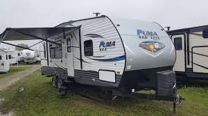 2018 puma xle 27sbc travel trailer toy hauler c out rv in stratford