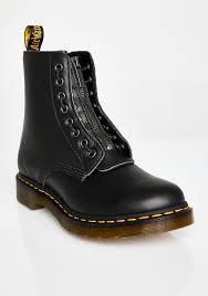 dr martens 1460 pascal front zip boots