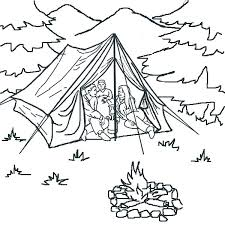 Small Picture Tent Coloring Page 2012 01 23 Coloring Page