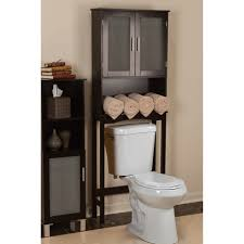Bamboo Bathroom Cabinets Bamboo Bathroom 27 X 71 Over The Toilet Cabinet Reviews