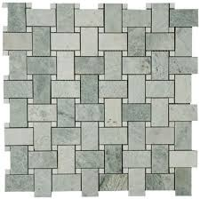 marble basketweave tile. Ming Green Marble Basketweave With White Dot Polished Mosaic Tile A