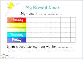 Download Reward Chart Blank Reward Chart Agarvain Org