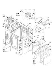 whirlpool cabrio dryer problems here is a diagram of the back panel 7 also the thermal fuse all according to the model number you posted
