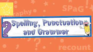 Teacher's Pet » Spelling, Punctuation & Grammar (SPAG) Banner
