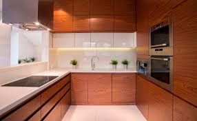 custome faux wooden kitchen cabinets