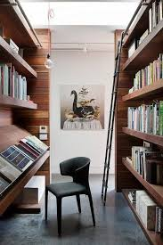 contemporary library furniture. 5 Contemporary Home Library Ideas (9) Furniture