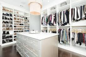 wall of custom shoe shelves