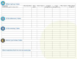 Medicines Schedule 40 Great Medication Schedule Templates Medication Calendars