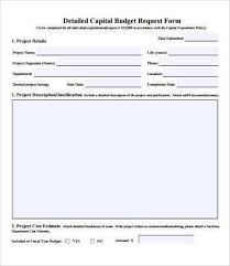 Free Budget Form Magnificent Budget Form Colbroco