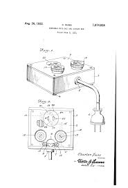 patent us1874828 portable fuse box and outlet box google patents patent drawing