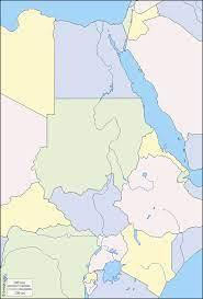 مجموعة خرائط صماء لدول حوض نهر النيل - المعرفة الجغرافية   كتب ومقالات في  جميع فروع الجغرافيا
