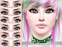 emo eyeliner with lashes