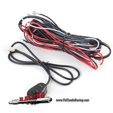 12v 40a led work fog light lamp bar wiring harne tutiendaracing 12v 40a led work fog light lamp bar wiring harness kit on off switch relay us