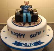 Cake Design For Men 60th Birthday