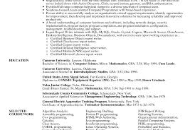 Professional Resume Builder Service Power Plant Electrical