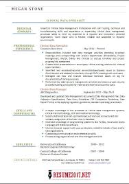 Beautiful Clinical Specialist Resume Gallery - Simple resume .