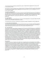 indemnity agreement sle new secured letter credit idea of doent best format indemnification template dhl