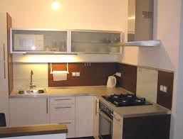 Really Small Kitchen Small Kitchen Design L Shaped Kitchen Decoration Aluminum Wall