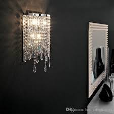 bathroom sconce lighting modern. Modern Crystal Wall Lamps Led Mirror Lights Contemporary With Regard To Awesome Residence Sconces Lighting Designs Bathroom Sconce F