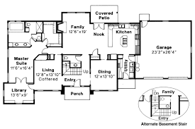 Plan 3992ST Classic Colonial  Colonial Laundry Chute And Plant Classic Floor Plans