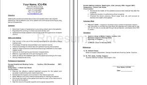 icu nurse resume sample in icu nurse resume sample - Icu Nurse Job  Description