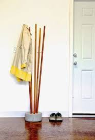Easy Coat Rack Ana White Build A Modern Concrete And Broomstick Coat Tree Free 19