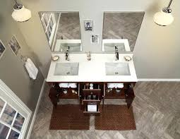 bathroom vanity cabinet base in walnut 24 landreneau single set
