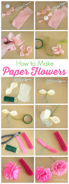 How To Make A Flower Out Of Tissue Paper Step By Step How To Make Tissue Paper Flowers Atta Girl Says