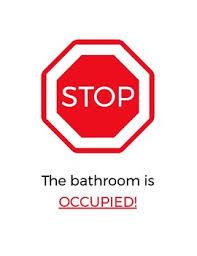 occupied bathroom sign. Stop \u0026 Go Classroom Bathroom Sign Occupied V