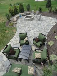 stamped concrete patio with fireplace. Backyard Creations Fire Pit Beautiful Traditional Stamped Concrete Patio Ideas With Round Fireplace
